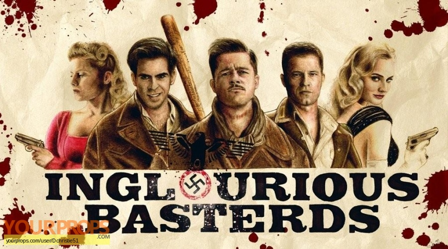 Inglourious Basterds original movie prop