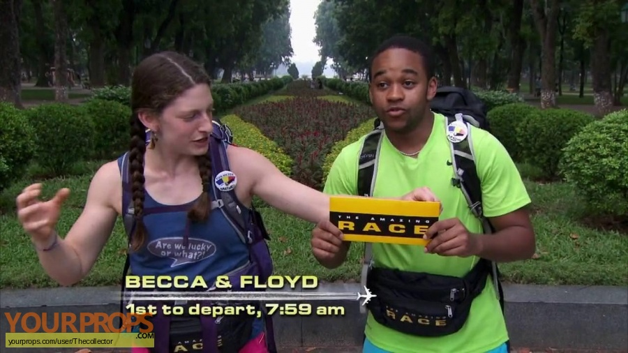 The Amazing Race 29 original movie prop
