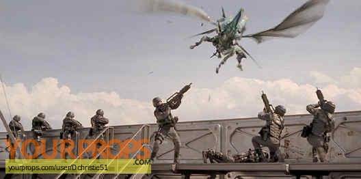 Starship Troopers original production artwork
