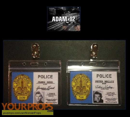 Adam-12 replica movie prop