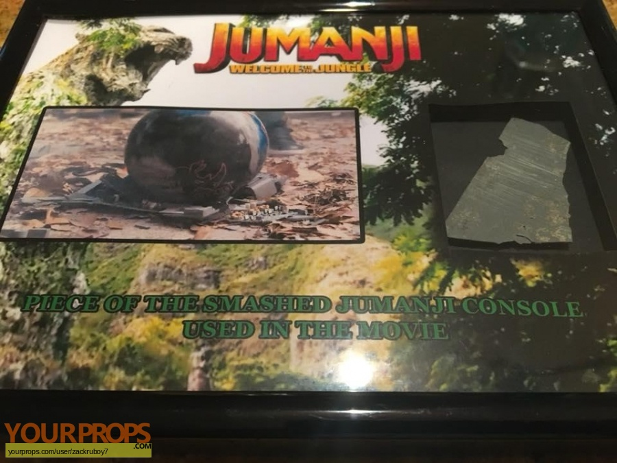 Jumanji  Welcome to the Jungle original movie prop