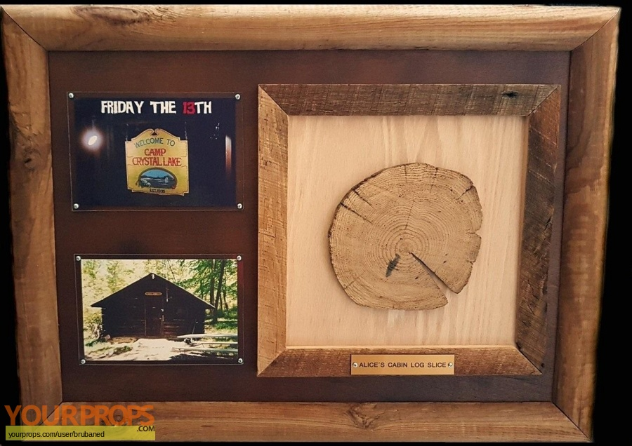 Friday the 13th original set dressing   pieces