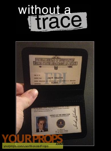 Without a Trace replica movie prop