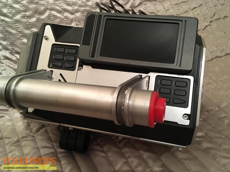 Pixels original movie prop weapon