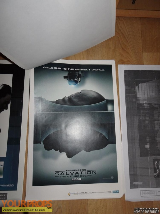 Terminator Salvation original production artwork