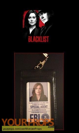 The Blacklist replica movie prop