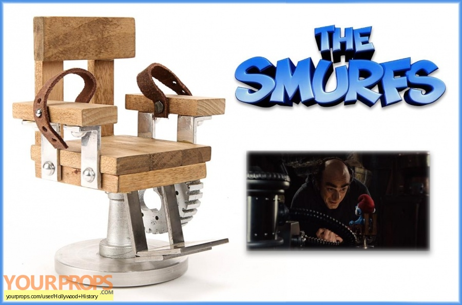 The Smurfs original movie prop