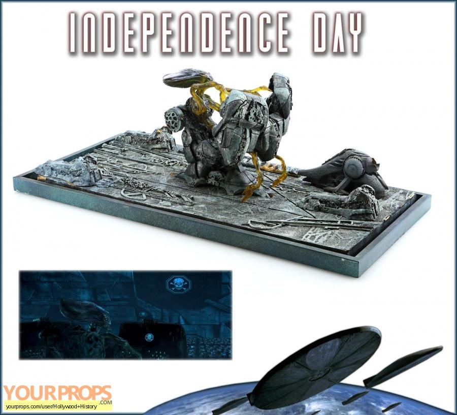 Independence Day original movie prop