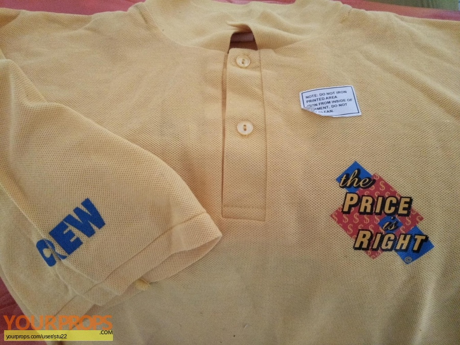 The Price Is Right (TV 1981 1985) original film-crew items