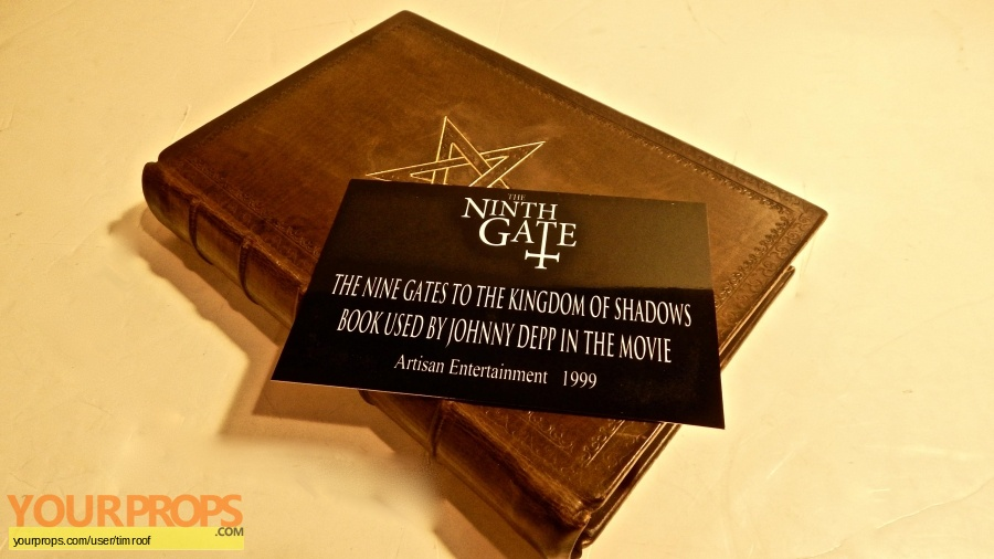 The Ninth Gate original movie prop