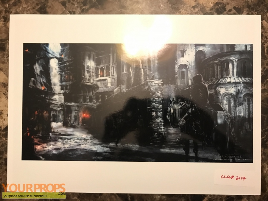 Underworld  Rise of the Lycans original production artwork