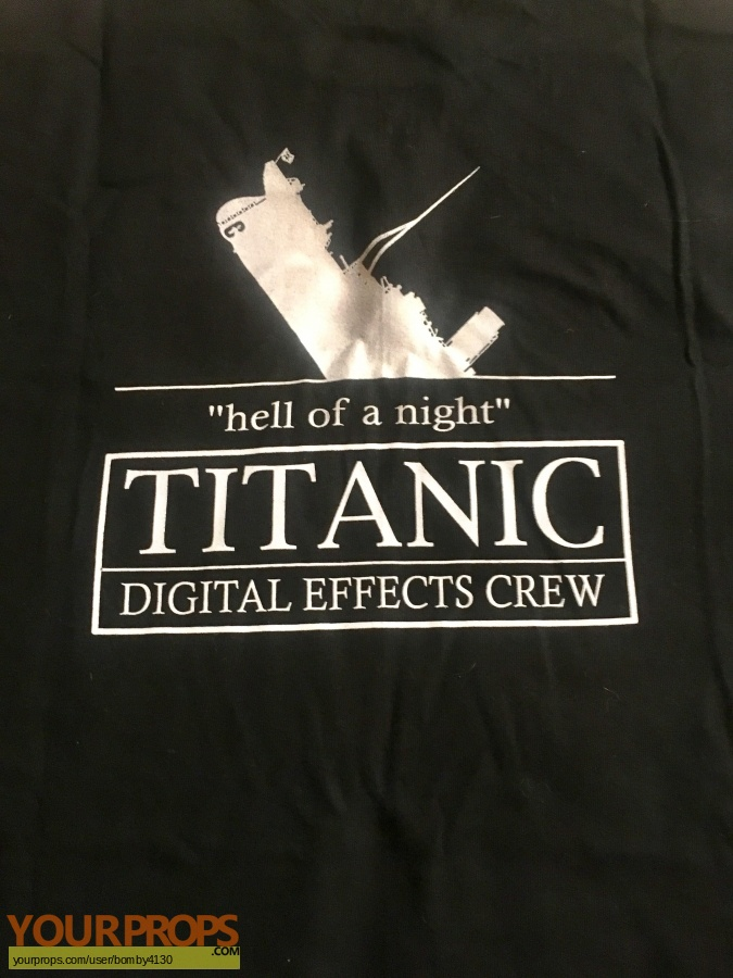 Titanic original film-crew items