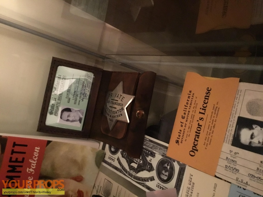 The Maltese Falcon replica movie prop