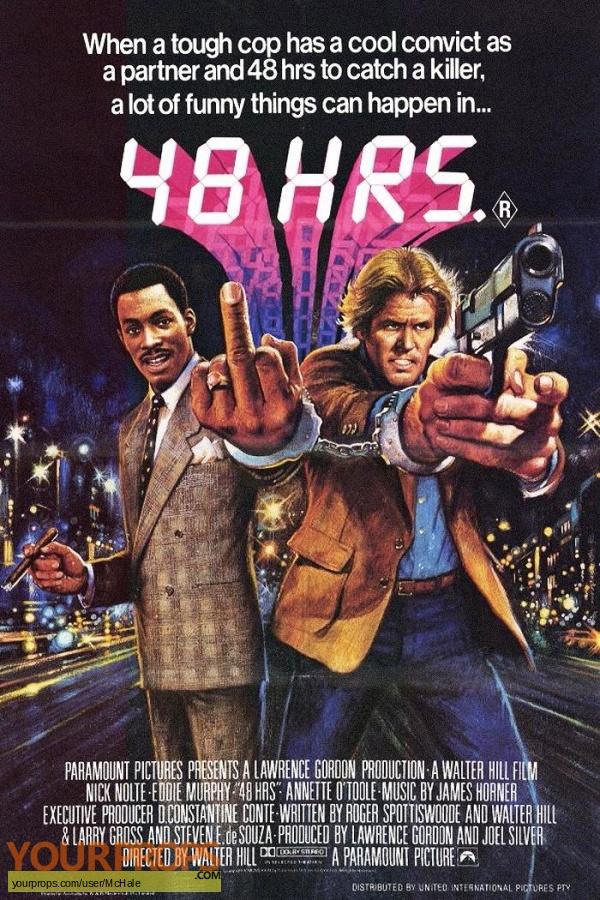 48 Hrs  replica movie prop