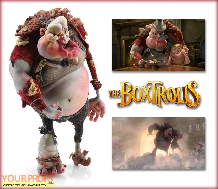 The Boxtrolls original movie prop