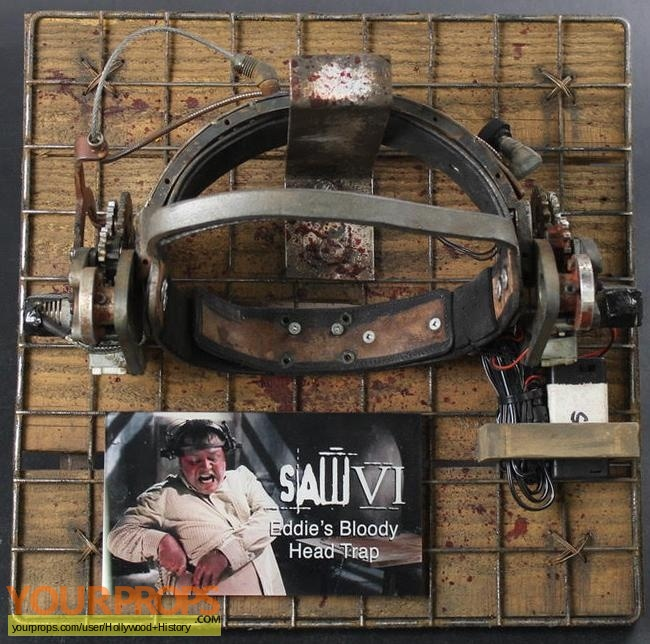 Saw VI original movie prop