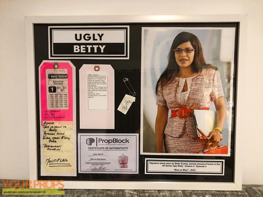 Ugly Betty original movie costume