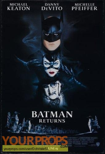 Batman Returns original model   miniature