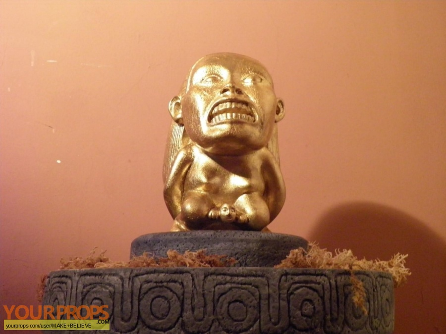 Indiana Jones And The Raiders Of The Lost Ark made from scratch movie prop