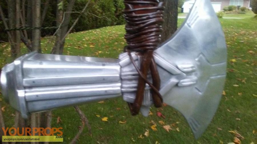 thor hammer axe stormbreaker full metal avenger Master Replicas movie prop