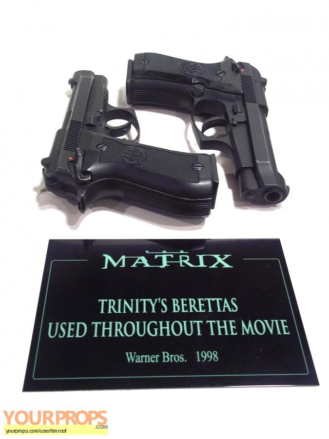 The Matrix original movie prop