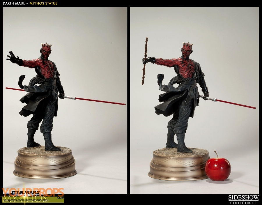 Star Wars The Phantom Menace Sideshow Collectibles model   miniature