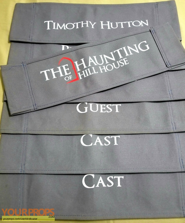 The Haunting of Hill House original production material