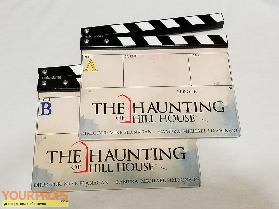 The Haunting of Hill House original film-crew items