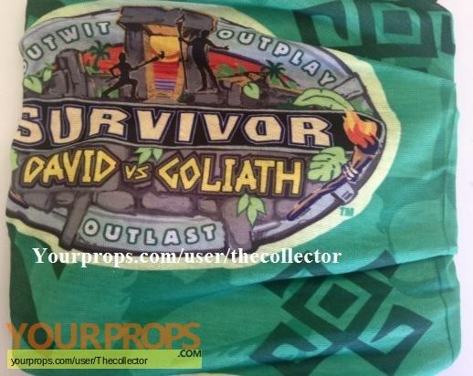 Survivor David vs Goliath original movie prop