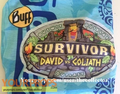 Survivor David vs Goliath original movie prop