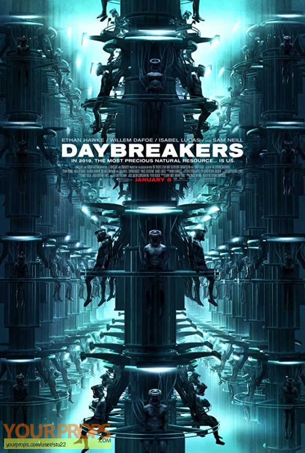Daybreakers original production material