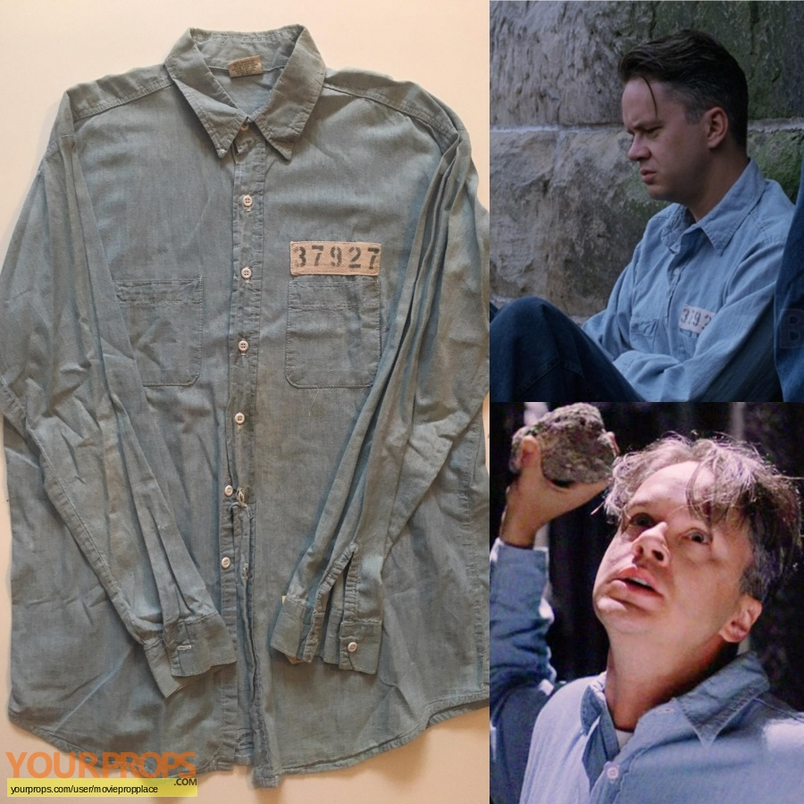 The Shawshank Redemption original movie costume
