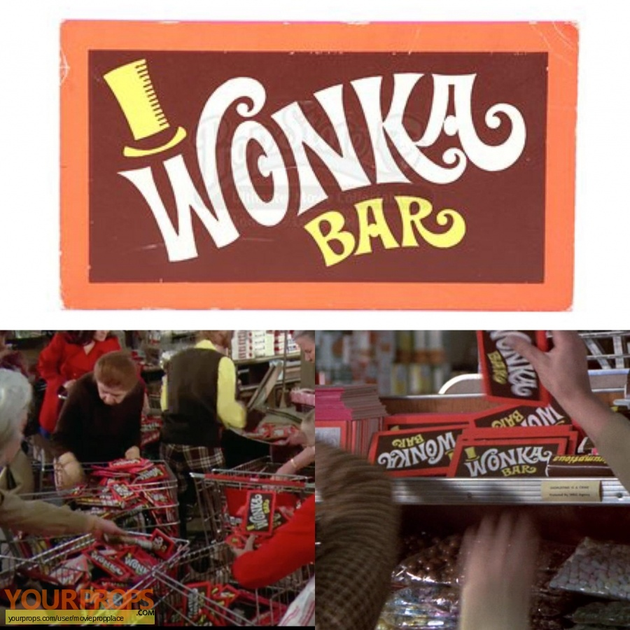 Willy Wonka and The Chocolate Factory original movie prop
