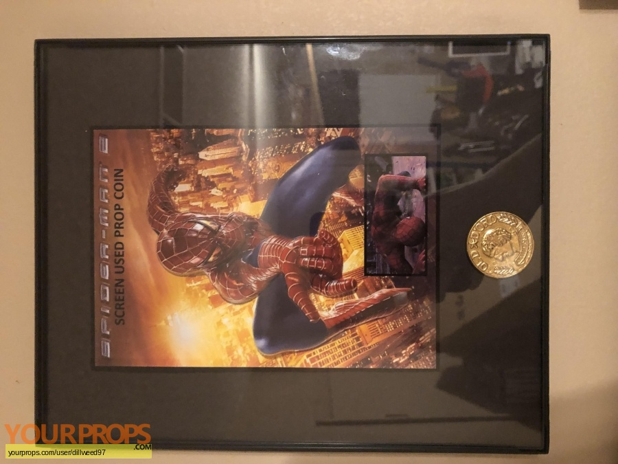 Spider-Man 2 original movie prop