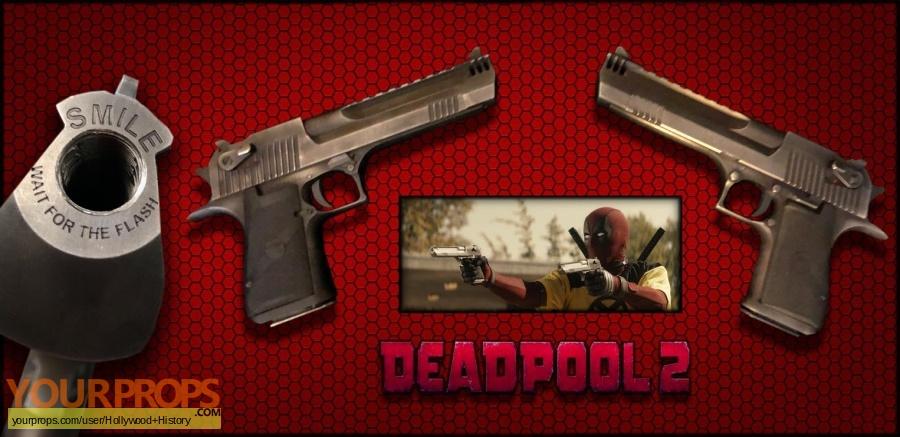 Deadpool 2 original movie prop