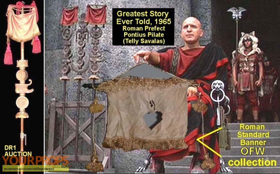 The Greatest Story Ever Told original movie prop