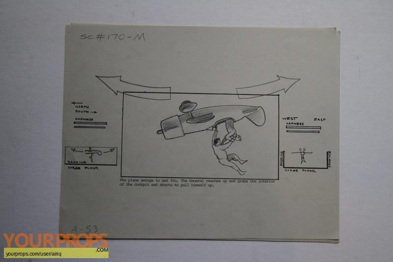 Toys original production artwork