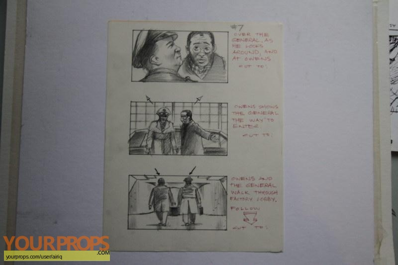 Toys original production artwork