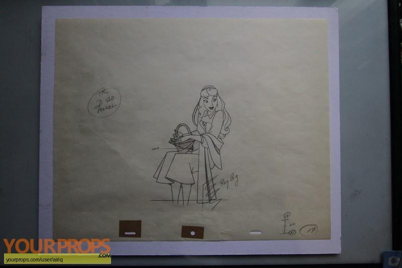Sleeping Beauty original production artwork