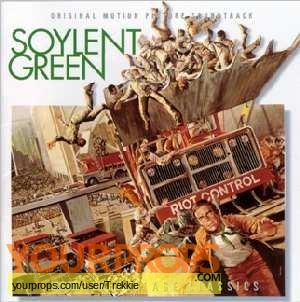 Soylent Green made from scratch movie prop