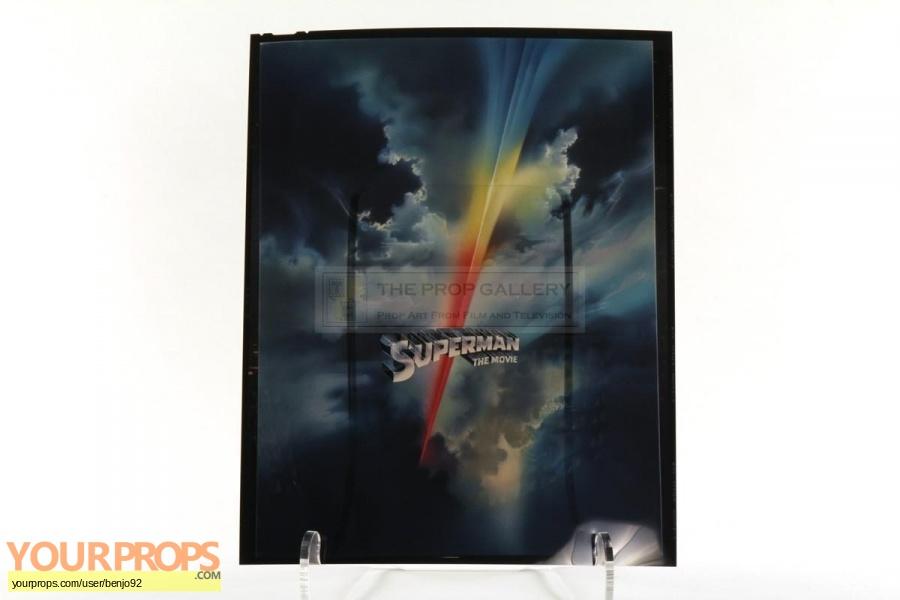 Superman original production material