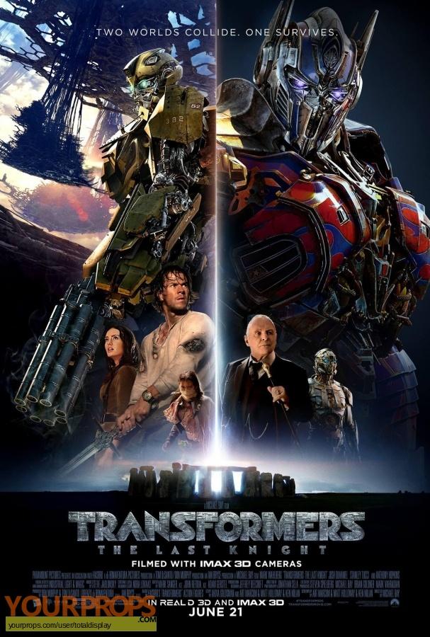 Transformers  The Last Knight original movie costume
