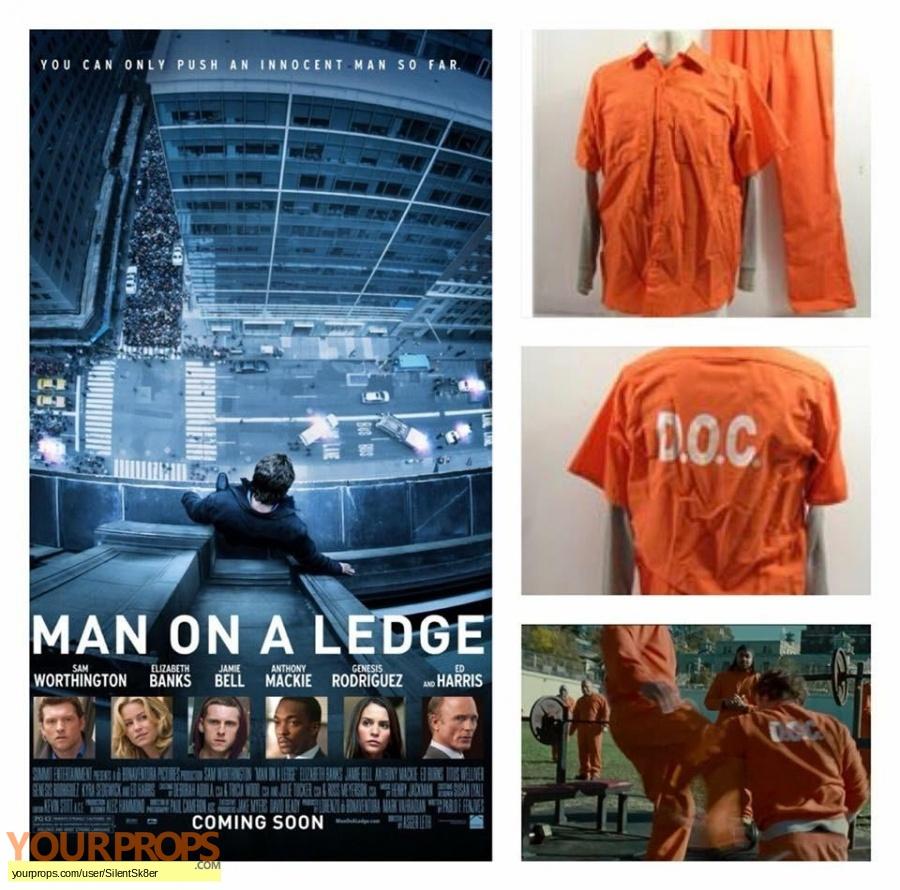 Man on a Ledge original movie costume
