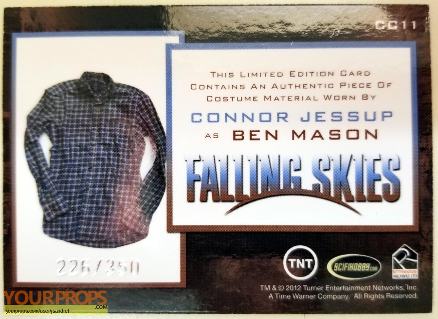Falling Skies original movie costume