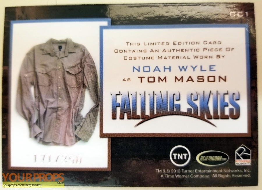 Falling Skies original movie costume