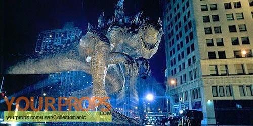 Godzilla original movie prop