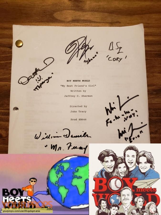 Boy Meets World original production material