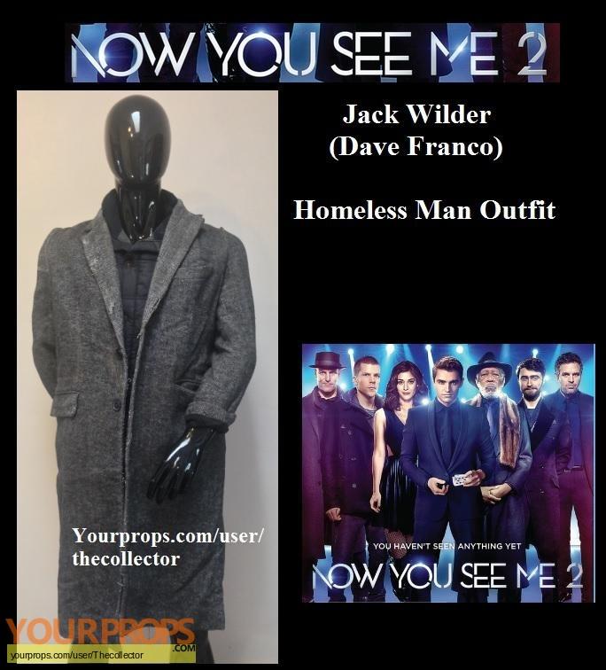 Now You See Me 2 original movie prop