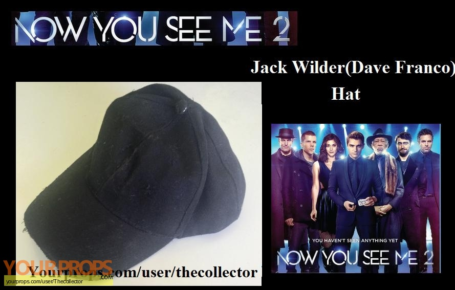 Now You See Me 2 original movie prop