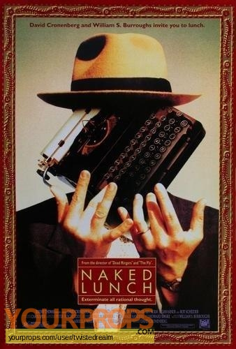 Naked Lunch original movie prop